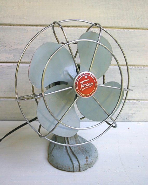 Old Fashioned Metal Fans
