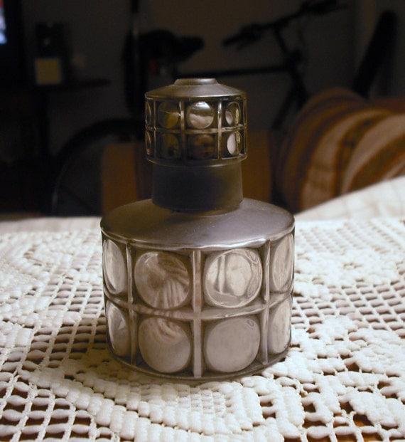 items similar to vintage antique lampe berger french perfume bottle burner lab eranol never. Black Bedroom Furniture Sets. Home Design Ideas