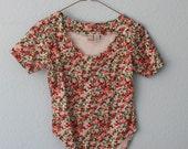 Vintage Floral Bodysuit