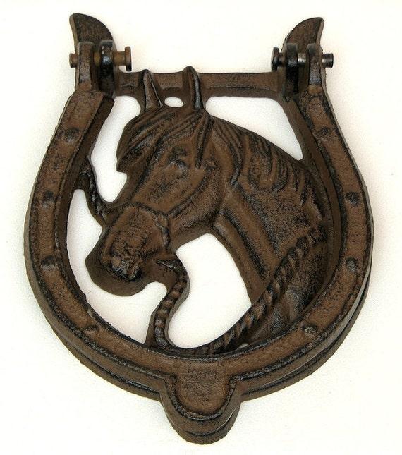 Unavailable listing on etsy - Horse door knocker ...