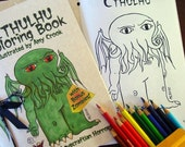 Cthulhu Coloring Book with Bonus Zombies - Download and Print Yourself