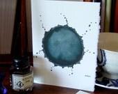 Growth - Handmade Art Card, Blank Inside