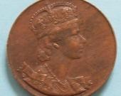 Coronation Medal - Queen Elizabeth II 1953 Canada