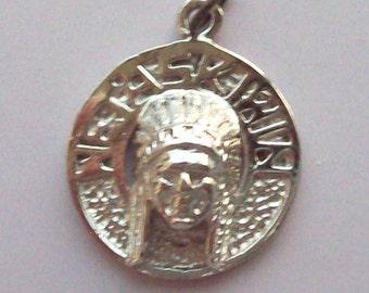 Wetaskiwin Amerindian Sterling Silver Charm