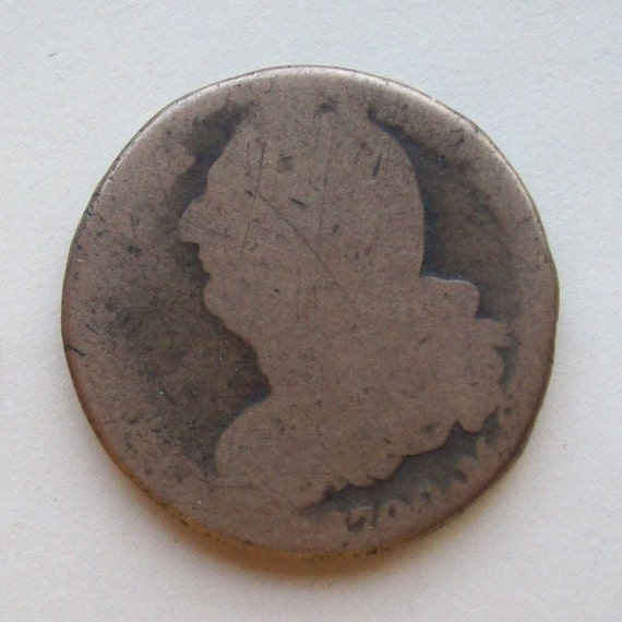 1792 Louis Xvi French Coin 2 Sols By Greenlandturtle On Etsy