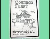 Vegan Common Feast - Fundraiser Cookzine