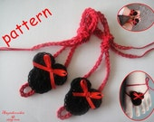 Minnie Mouse Baby Barefoot  Sandals-C12 PDF Pattern
