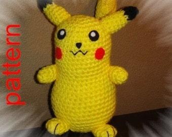 Pokemon--Pikachu PDF Pattern