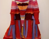 Bright Flame Gypsy Coat 8 to 10