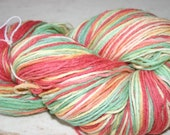 De-stashing  Super size skein of hand painted goodness