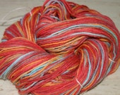De-stashing  Large skein of hand painted goodness