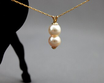 ... Akoya pearl, gold, for her, anniversary, unique, gift, June Birthday