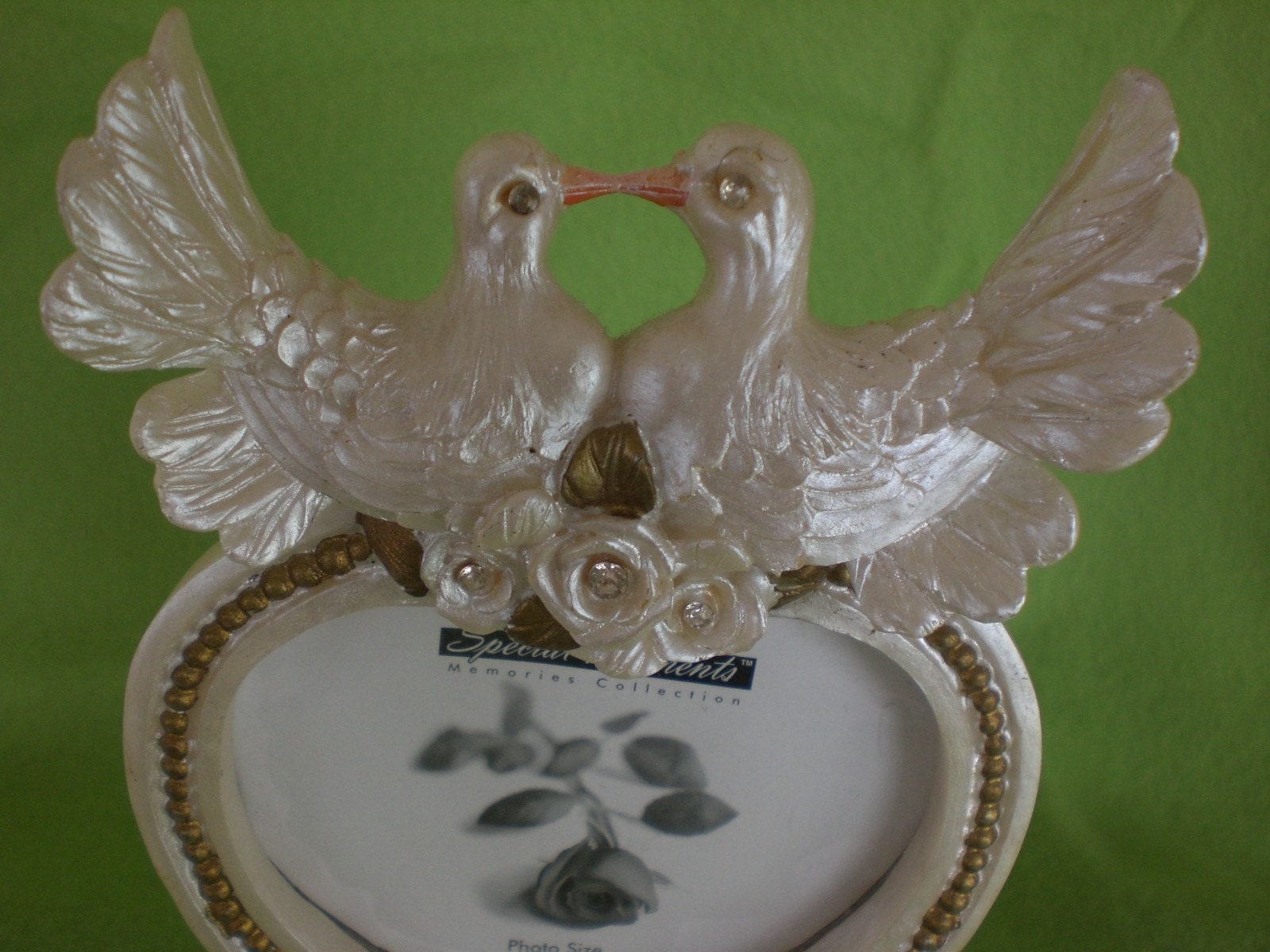 picture holder wedding cake topper cake topper wedding doves picture frame by 18353