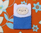 Finn the Human Adventure Time Finger Puppet