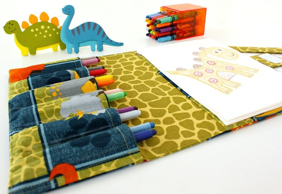 Arts and crafts travel toy for children Dino Patch (LAST ONE)