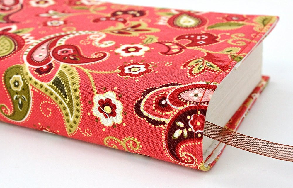 Fabric Book Covers For Paperbacks ~ Fabric book cover for mass market paperback by ourlittlemesses