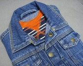 iPad case, Recycled jeans jacket, Eco Friendly
