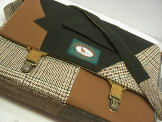 Custom order for Don, large messenger bag and 2 iPad cases with straps
