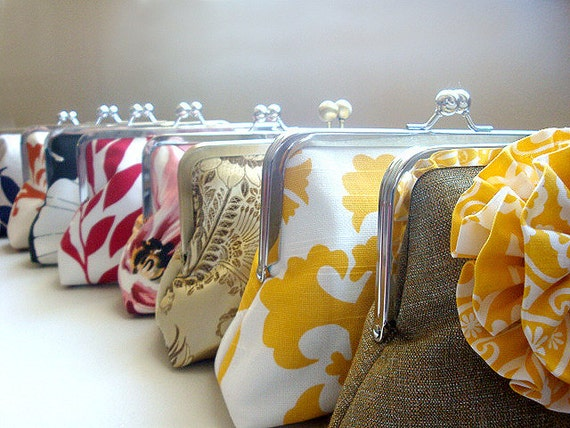 A CUSTOM ORDER FOR iversenkdi1 - Party Bag Bridesmaid Purse - Bridesmaid Purse - Bridesmaid Gifts - Handbags - Bag- Clutches