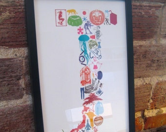 J is for... (11 x 17 Letter J Poster)