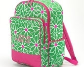 Daisy Backpack Personalized by Giggles and Grins Creations