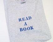 READ a BOOK tee shirt Mens Womens S M L XL XXL teacher librarian professor