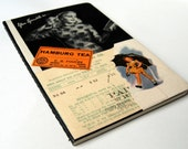 Small Altered Journal - Vintage collage book