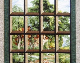 Attic Window - House on a Path