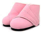 Pink Suede Ankle Boots for YO-SD, LittleFee, Petite Ai, Ange Ai S00026A