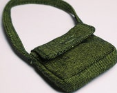 Dark Green Canvas Messenger Bag for YO-SD, LittleFee, Petite Ai, Ange Ai, Ciao Bella B00002B