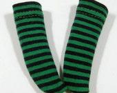 Green & Black Striped Socks for YO-SD, LittleFee, Petite Ai, Ange Ai, Ciao Bella K00004D
