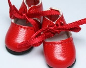 Red Lace-Up School Shoes for Lati Yellow, PukiFee, Riley Kish, Tulah Kish, Bobobie Nissa, DIM Silf, Dollk S00051C