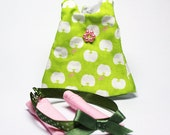 Apple in my eyes - Green Tank Dress Set for Lati Yellow, PukiFee, Dollk C00054B