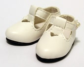 White School Shoes for BJD Dolls YO-SD, LittleFee, Ange Ai, Ciao Bella S00054B
