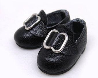 Black Buckle School Shoes for Lati Yellow, PukiFee, Riley Kish, Bobobie Nissa, DIM Silf, Dollk S00027A