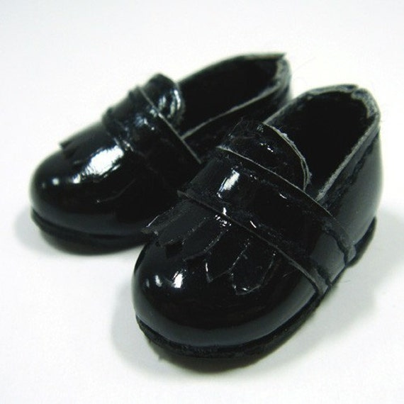 Black Fringed School Slip-On for Lati Yellow, PukiFee, Riley Kish, Bobobie Nissa, DIM Silf S00023A