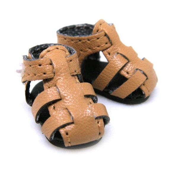 Brown Strappy Sandals for Lati Yellow, PukiFee, Riley Kish, DIM Silf, Dollk S00003G
