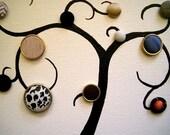 RESERVED FOR REBECCA Mini Curly Button Tree - Retro