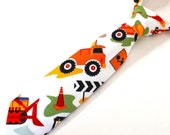 Baby Boy's Necktie - Construction Theme - any size