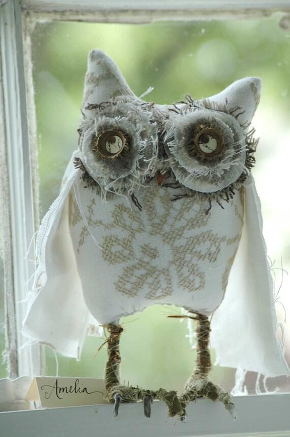 Into-the-Woods Woodland Owl Amelia