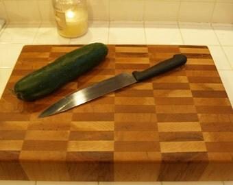 Custom BIGGEST BOY End Grain Cutting Board, 3 inch thick butcher block
