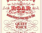 Day Eight aka Courage