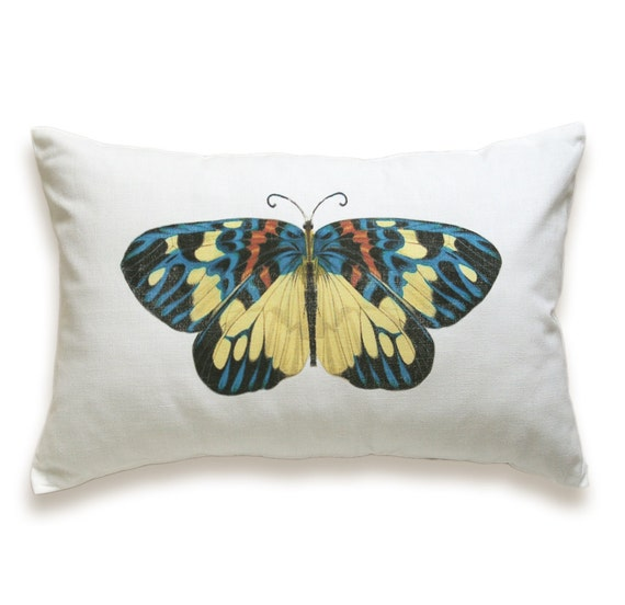 Butterfly Pillow Cover 12x18 PRINT DESIGN 07