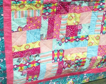 All The Brights Lap Quilt