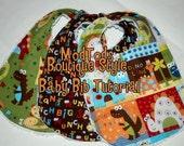 TUTORIAL Baby Bib PDF Pattern Tutorial Quality Boutique Style Bibs. Instant Download.