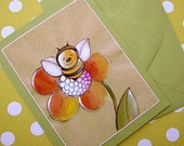 RESERVED FOR MARIEA - Leah the Bee Cards, Set of 10