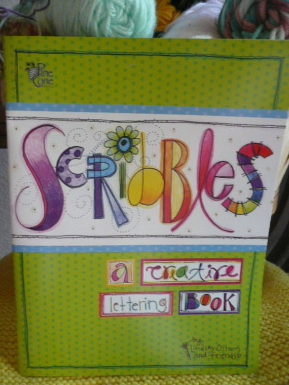 Scribbles.... a creative lettering book