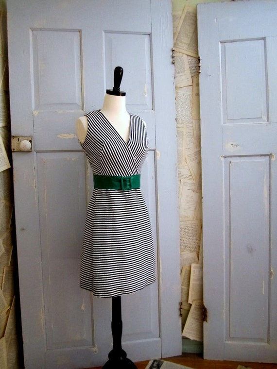 1960s Dress, 1960s Wrap Dress, Lillie Rubin Sleeveless Dress SM