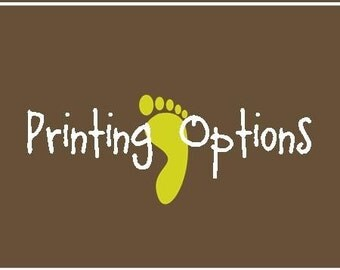 Printing Options for Photo Cards