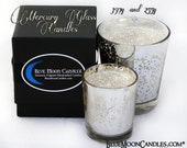 Highly scented Mercury Glass container candles 397g